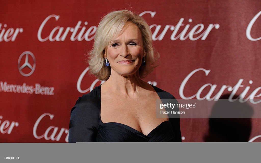 Actrress Glenn Close arrives at the 2012 Palm Springs International Film Festival Awards Gala at Palm Springs Convention Center on January 7, 2012 in Palm Springs, California.