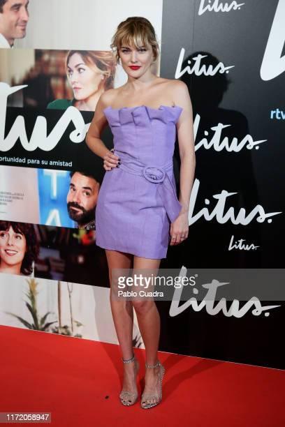 Actrtess Marta Nieto attends the 'Litus' Premiere at Verdi Cinema on September 03, 2019 in Madrid, Spain.