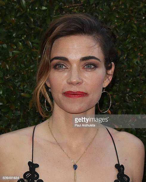 Acttress Amelia Heinle attends the 2016 Daytime Creative Arts Emmy Awards at The Westin Bonaventure Hotel on April 29 2016 in Los Angeles California