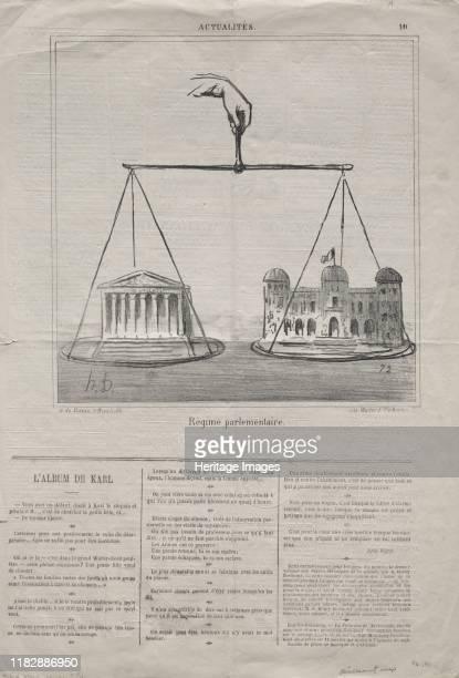 Parliamentary Regime 1870 Creator Honoré Daumier