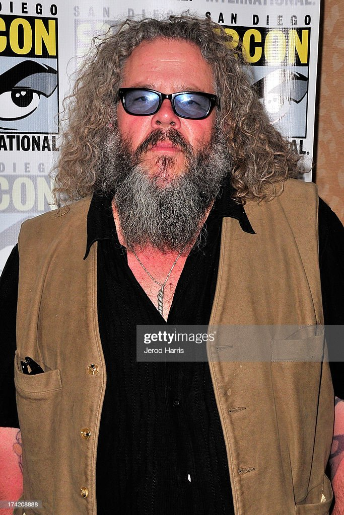 Actyor Mark Boone Junior attends the 'Sons Of Anarchy' press line during Comic-Con International 2013 at San Diego Convention Center on July 21, 2013 in San Diego, California.