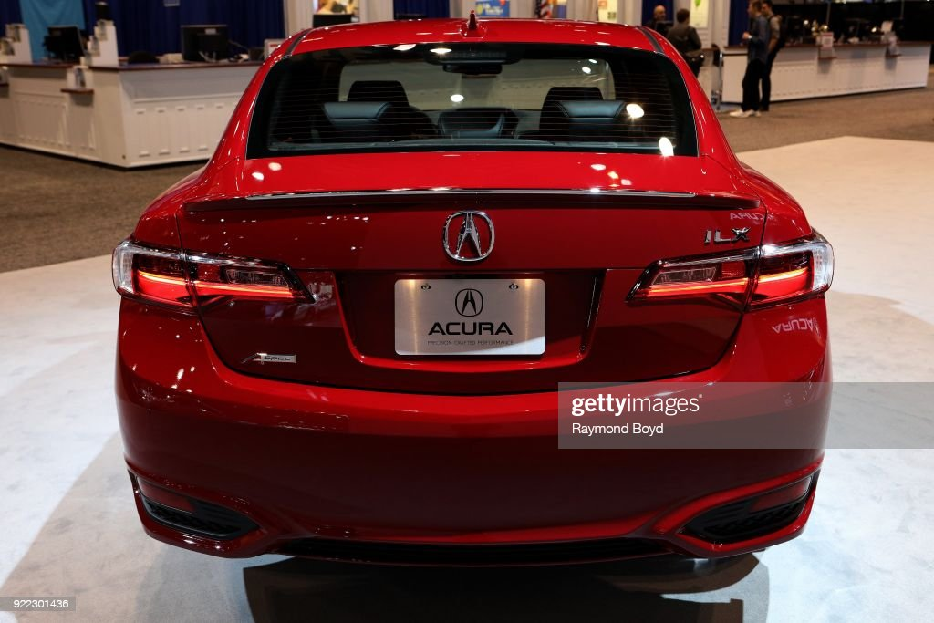 Acura ILX is on display at the 110th Annual Chicago Auto Show at McCormick Place in Chicago, Illinois on February 9, 2018.