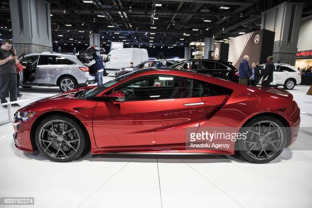 A 2017 Acura NSX at the 2017 Washington Auto Show in Washington USA on February 3 2017