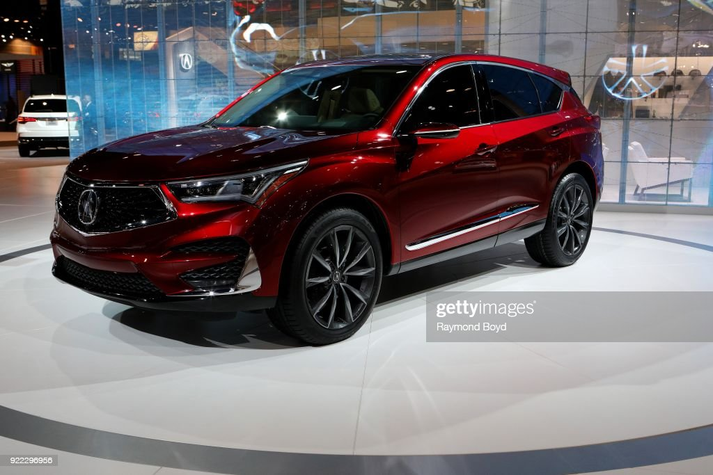 Acura RDX Prototype is on display at the 110th Annual Chicago Auto Show at McCormick Place in Chicago, Illinois on February 9, 2018.