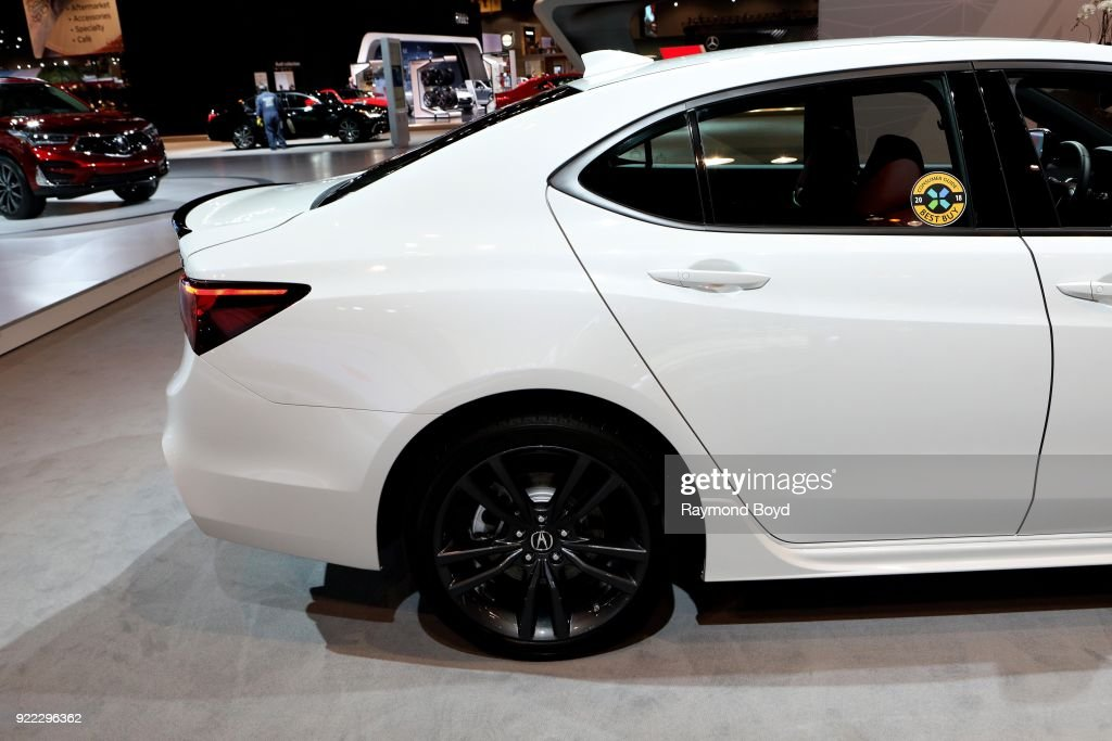 Acura TLX Prototype is on display at the 110th Annual Chicago Auto Show at McCormick Place in Chicago, Illinois on February 9, 2018.