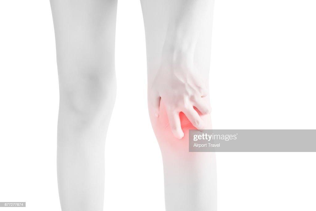 Dolor agudo en una rodilla