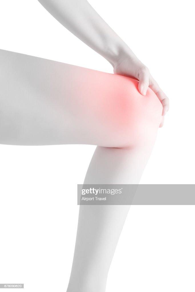 En dolor una rodilla agudo