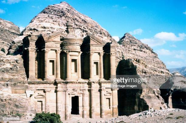 Ad Deir Monastery at Petra c20th century Ad Deir also known as El Deir is a monumental building carved out of rock in the ancient Jordanian city of...