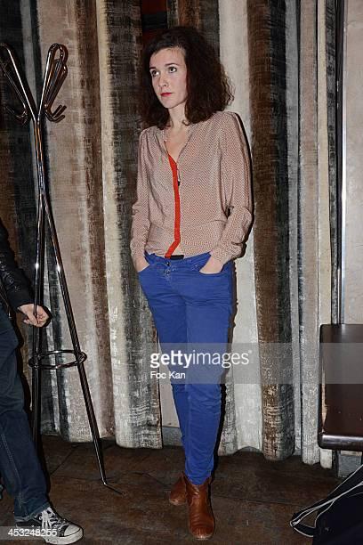 'Ad Nauseam' director Aurore Paris attends The ''C'Est Pas La Taille Qui Compte' Short Movies Screening At Le Paname Cafe on December 2 2013 in Paris...