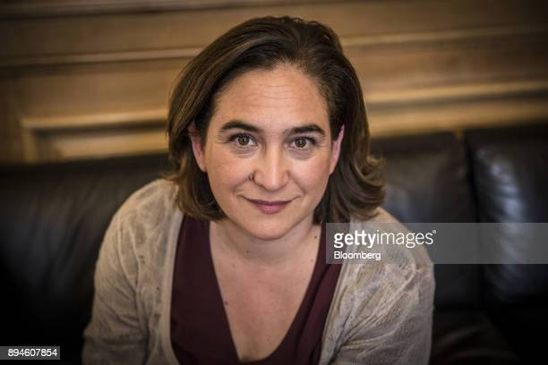 Ada Colau mayor of Barcelona poses for a photograph in her City Hall office in Barcelona Spain on Thursday Nov 30 2018 Catalonias secessionists are...