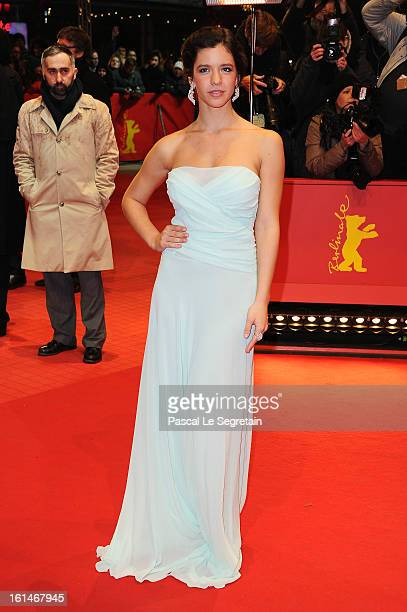 Ada Condeescu attends the 'Before Midnight' Premiere during the 63rd Berlinale International Film Festival at the Berlinale Palast on February 11...