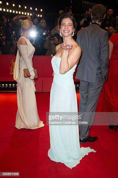 Ada Condeescu attends the 'Before Midnight' Premiere during the 63rd Berlinale International Film Festival at the Berlinale Palast in Berlin