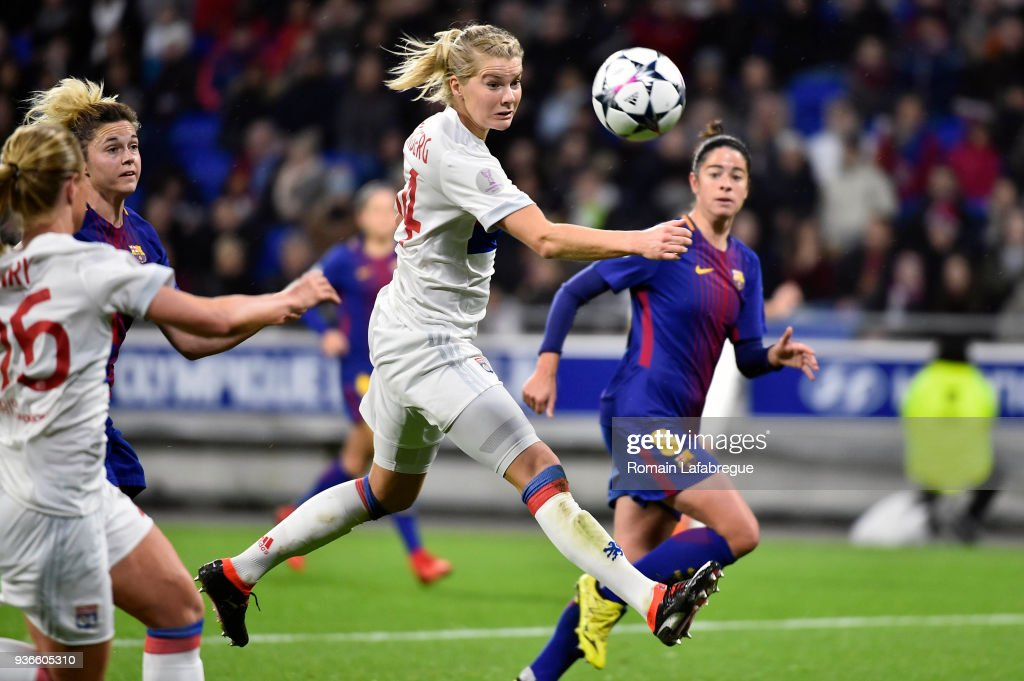 Olympique Lyonnais v Fc Barcelona - Women's Champions League