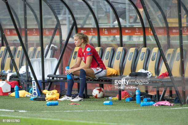 Ada Hegerberg of Norway after the UEFA Womens Euro 2017 between Norway v Belgium at Rat Verlegh Stadion on July 20 2017 in Breda Netherlands