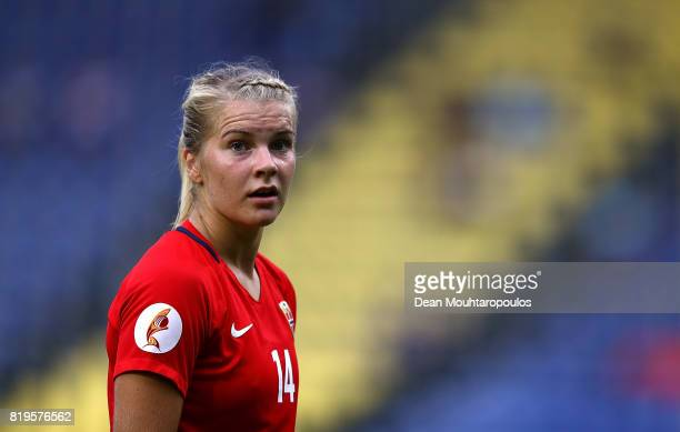 Ada Hegerberg of Norway looks on during the UEFA Women's Euro 2017 Group A match between Norway and Belgium at Rat Verlegh Stadion on July 20 2017 in...