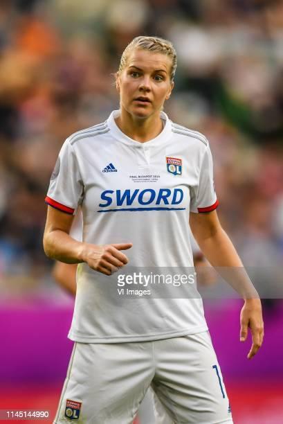 Ada Hegerberg of Olympique Lyonnais women during the UEFA Women's Champions League final match between Olympique Lyonnais women v FC Barcelona women...