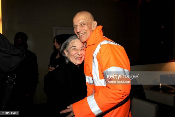 """Ada Katz Alex Katz attend Chiara Clemente's """"Our City Dreams"""" Screening Sponsored by Dior Beauty and Deitch Projects at Film Forum on February 04..."""