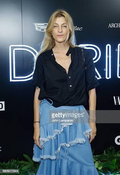 Ada Kokosar attends Conde Nast Cadillac present The Daring 25 at Cadillac House on July 27 2016 in New York City