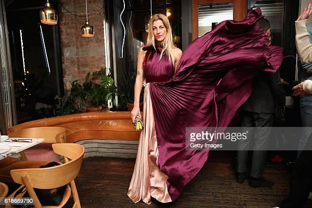 Ada Kokosar attends MATCHESFASHIONCOM x Roksanda Dinner at Le Turtle on October 27 2016 in New York City