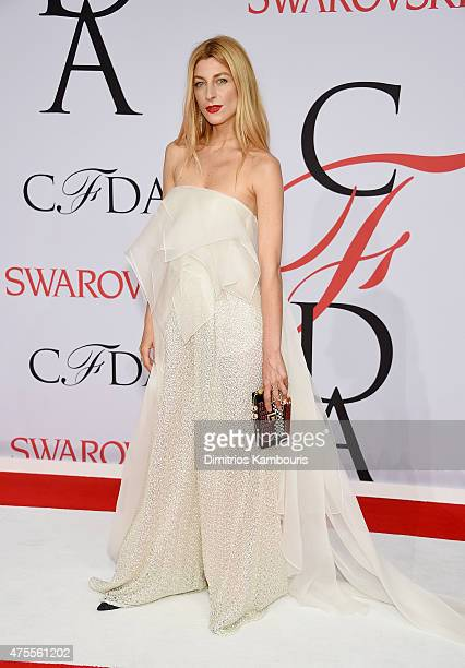 Ada Kokosar attends the 2015 CFDA Fashion Awards at Alice Tully Hall at Lincoln Center on June 1 2015 in New York City