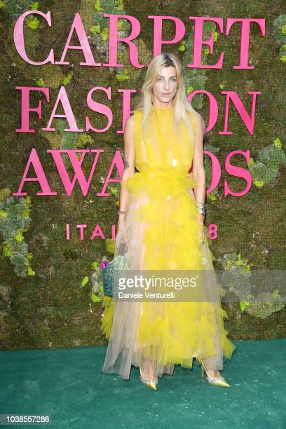 Ada Kokosar attends the Green Carpet Fashion Awards at Teatro Alla Scala on September 23 2018 in Milan Italy