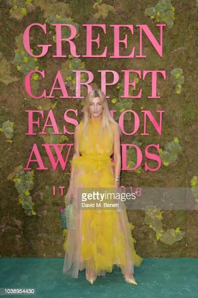 Ada Kokosar attends The Green Carpet Fashion Awards Italia 2018 at Teatro Alla Scala on September 23 2018 in Milan Italy