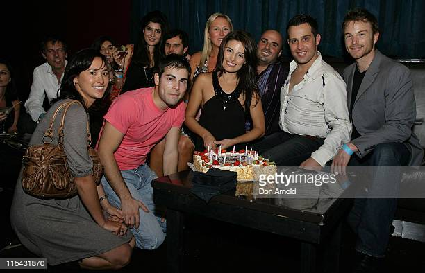 Ada Nicodemou and guests during Ada Nicodemou Surprise Birthday Party May 13 2007 at Sapphire Suite in Sydney Australia