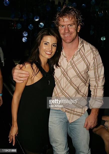 Ada Nicodemou and Lance Thompson during Ada Nicodemou Surprise Birthday Party May 13 2007 at Sapphire Suite in Sydney Australia