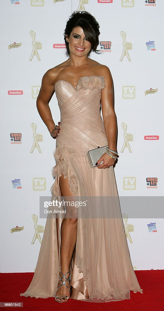 Ada Nicodemou arrives at the 52nd TV Week Logie Awards at Crown Casino on May 2, 2010 in Melbourne, Australia.