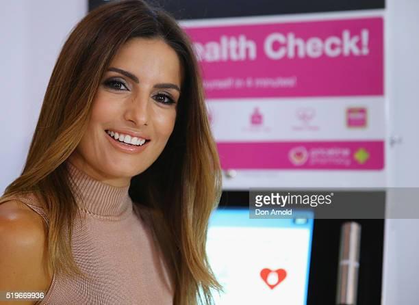 Ada Nicodemou attends the launch of Australia's Biggest Blood Pressure Check on April 8 2016 in Sydney Australia