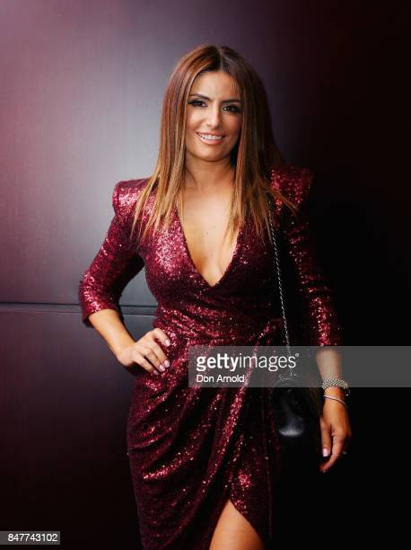 Ada Nicodemou attends the Save Our Sons Gala at The Star on September 16 2017 in Sydney Australia