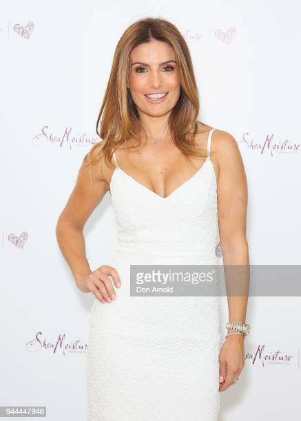 Ada Nicodemou attends the SheaMoisture Launch on April 11 2018 in Sydney Australia