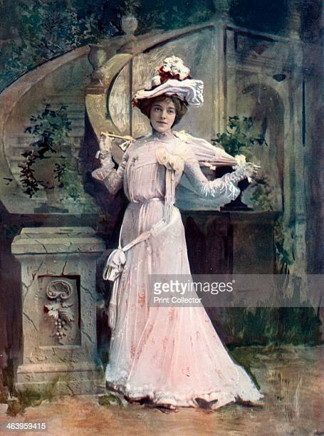 Ada Reeve in Florodora c1902 British actress Ada Reeve as Lady Holyrood in a musical comedy with music by Leslie Stuart and lyrics by Ernest...