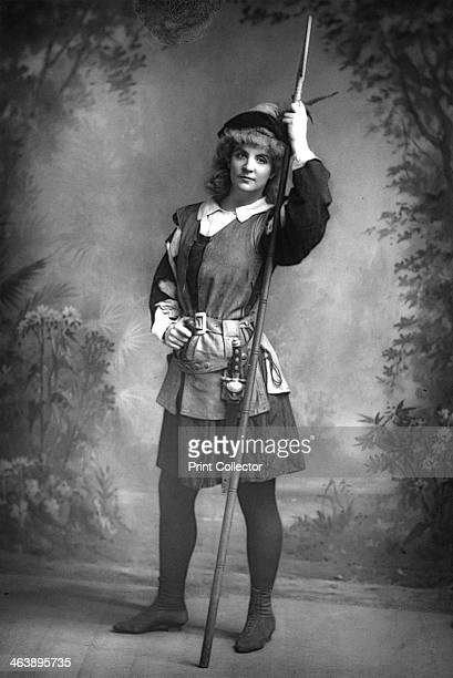 Ada Rehan Irishborn American actress c1890 Ada Rehan in the breeches role of Rosalind in As You Like Itby William Shakespeare From The Cabinet...