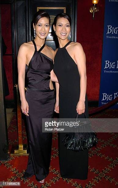 Ada Tai and Arlene Tai during Big Fish New York Premiere at Ziegfeld Theatre in New York City New York United States