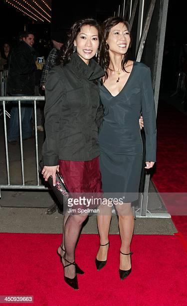 Ada Tai and Arlene Tai during Something's Gotta Give New York Premiere Outside Arrivals at Ziegfeld Theater in New York City New York United States