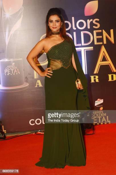 Adaa Khan during the 5th Colors Golden Petal Awards in Mumbai