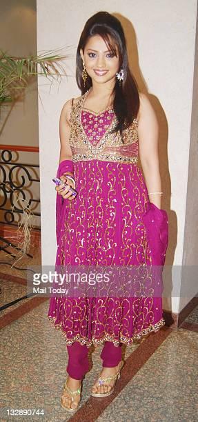 Adaa Khan during the seventh anniversary party of Indian television Hindi programme 'Saa Bahu aur Saazish' in Mumbai on November 13 2011