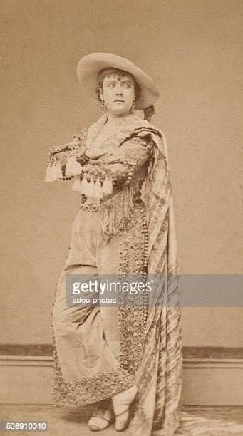 Adah Menken . American actress, who was the last mistress of Alexandre Dumas P��re. Ca. 1860.