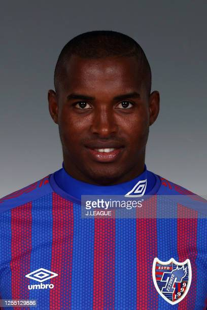 Adailton poses for photographs during the FC Tokyo portrait session on January 8, 2020 in Japan.