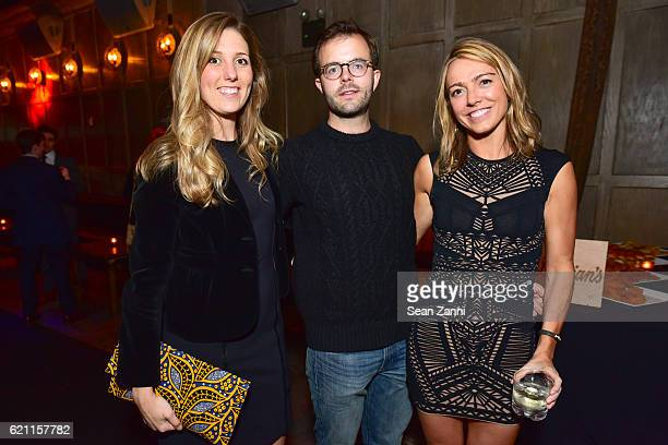 Adair Landy Tyler Seeger and Alice Ryan attend Yellowstone Park Foundation Young Patrons Benefit at Avenue on November 3 2016 in New York City