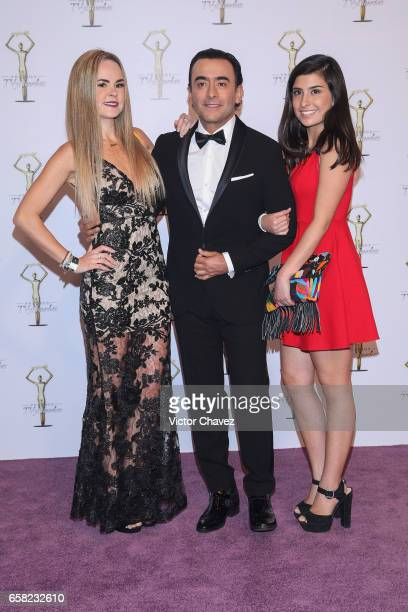 Adal Ramones and guests attend Premios Tv y Novelas 2017 at Televisa San Angel on March 26 2017 in Mexico City Mexico