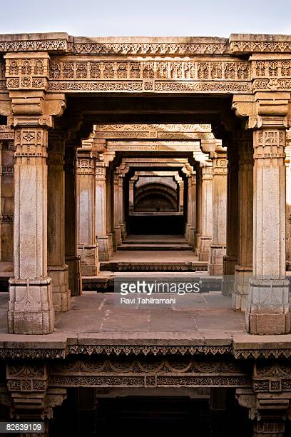 Adalaj Step well - Corridors