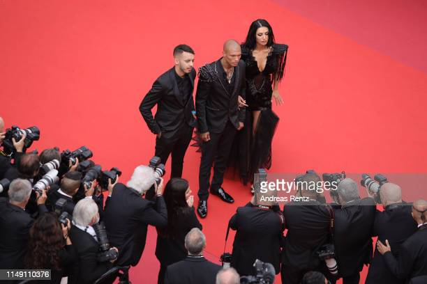 Adam Abaida Atarshi Jeremy Meeks and Andreea Sasu attend the opening ceremony and screening of The Dead Don't Die during the 72nd annual Cannes Film...