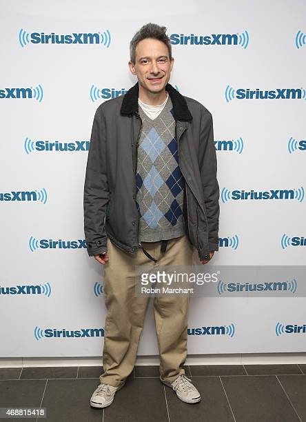 Adam 'AdRock' Horovitz of the Beastie Boys visits at SiriusXM Studios on April 7 2015 in New York City