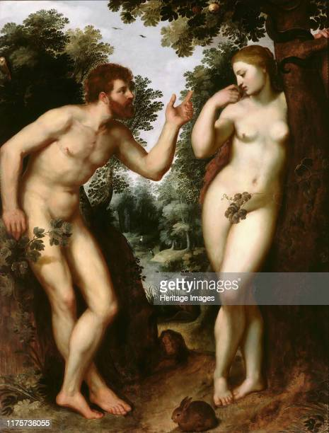Adam and Eve 15971600 Found in the Collection of Rubenshuis Artist Rubens Pieter Paul