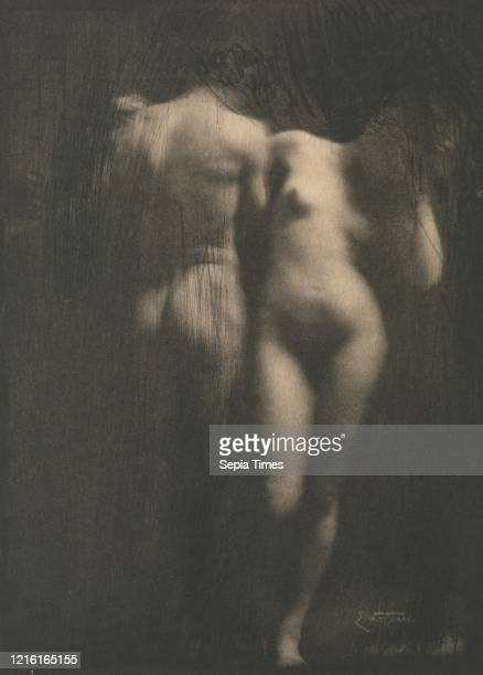 Adam and Eve, 1900s, printed 1909, Photogravure, 17.8 x 12.8 cm. , Photographs, Frank Eugene , Born in New York to immigrant parents, Eugene was one...