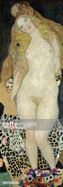 Adam and Eve 1918 Found in the collection of the Österreichische Galerie Belvedere Vienna