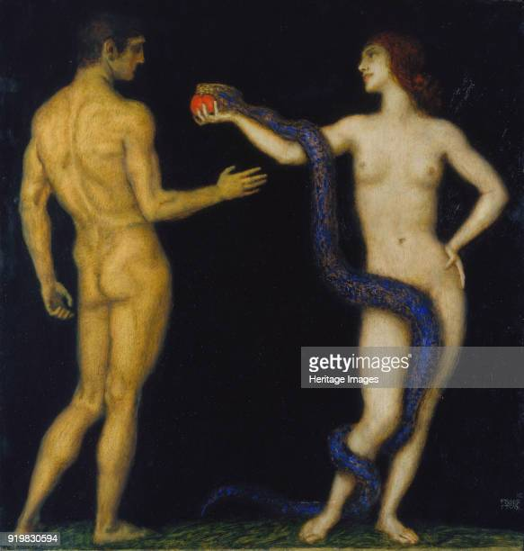 Adam and Eve 19201925 Found in the collection of Städtische Galerie im Städelschen Kunstinstitut Frankfurt am Main