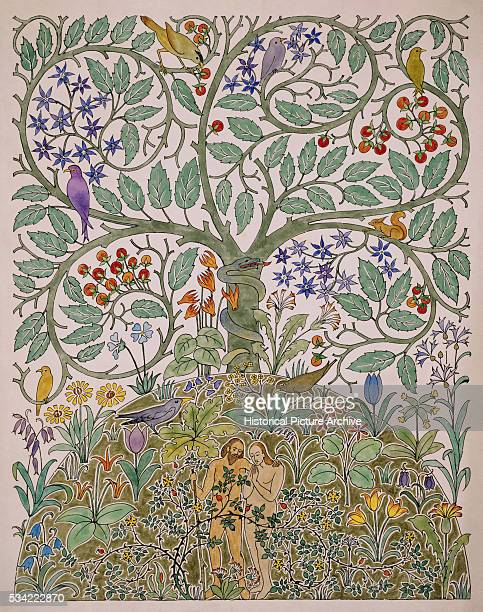 Adam and Eve by Charles Francis Annesley Voysey